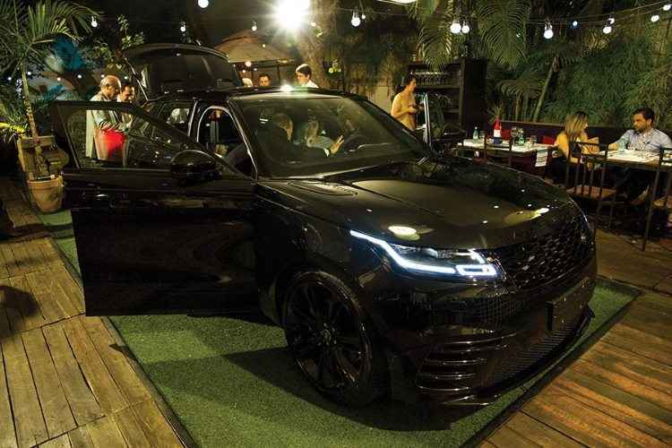 Lan�amento do Land Rover Velar em BH